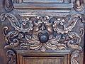 Pfarrkirchen - Barockes Portal - Fratze mit Türknauf.jpg
