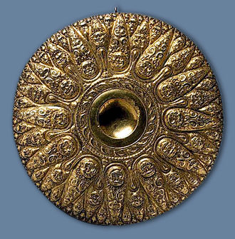 Bosporan Kingdom - Bosporan Phiale (top view), 4th century BC