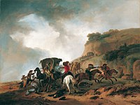 Philips Wouwerman - Attack on a Coach.jpg