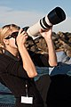 Photographer with a Canon 100-400mm lens -Morro Photo Expo, California, USA-24Oct2009.jpg