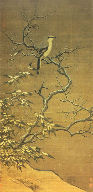 Li Di - Shrike on a tree in winter (1187) Shangai Museum