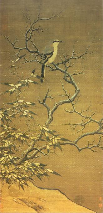 Li Di - Shrike on a tree in winter (1187) Shangai Museum