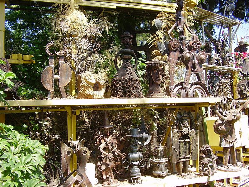 גן הפסלים של יומה שגב בגדרה