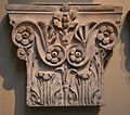 Pilaster capitals from the Pantheon, decorative column tops from inside the Pantheon, British Museum (14975630456).jpg