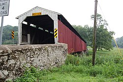 Pine Grove Covered Bridge Three Quarters View 3008px.jpg