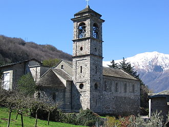 Pieve - The pieve of Piona.