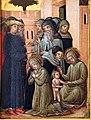 Pittore veneziano, storie di santa marina, 1350 ca. 02.jpg