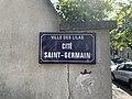 Plaque Cité Saint Germain - Les Lilas (FR93) - 2021-04-27 - 2.jpg