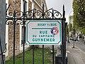 Plaque Rue Capitaine Guynemer - Rosny-sous-Bois (FR93) - 2021-04-15 - 2.jpg