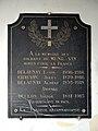 Plaque commémorative dans l'église Saint-Pierre de Ménil-Vin.jpg