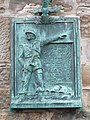 Plaque gifted by Polish soldiers to town of Elie - geograph.org.uk - 1007618.jpg