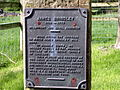 Plaque of James Brindley Monument, Tunstead.jpg