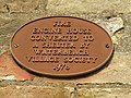 Plaque on Old Fire Engine House - geograph.org.uk - 1448343.jpg