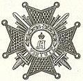 Plaque van een Commandeur der Eerste Klasse in de Orde van Adolph van Nassau.jpg
