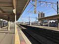 Platform of Akama Station 3.jpg