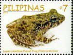 Platymantis biak 2011 stamp of the Philippines.jpg