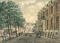 Plein Den Haag in 1750, noordzijde.jpg