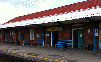 Plumstead, Cape Town - Image: Plumstead station, CT