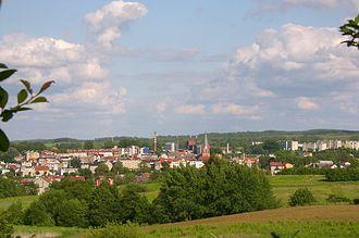 Połczyn-Zdrój - Panorama of the town