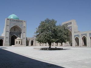 Islam in Uzbekistan - The Po-i-Kalyan Mosque in Bukhara.