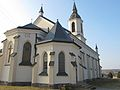 Podlaskie - Szudziałowo - Szudziałowo - Kościół pw. św. Wincentego Ferreriusza 20120317 04.JPG