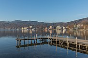 Poertschach Johannes-Brahms-Promenade Bootslandesteg 29122015 9885.jpg