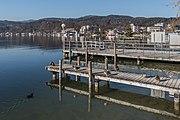 Poertschach Johannes-Brahms-Promenade Schiffsanlegestelle 15122016 5728.jpg
