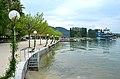 Poertschach Johannes-Brahms-Promenade Treppe zum Wasser 10052013 582.jpg