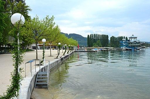 Poertschach Johannes-Brahms-Promenade Treppe zum Wasser 10052013 582
