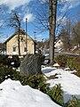 Pomník věnovaný T.G.M. ve Stříbrné Skalici.JPG