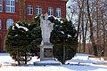 Pomnik św. Brunona Bonifacego z Kwerfurtu patrona miasta Bartoszyce.jpg