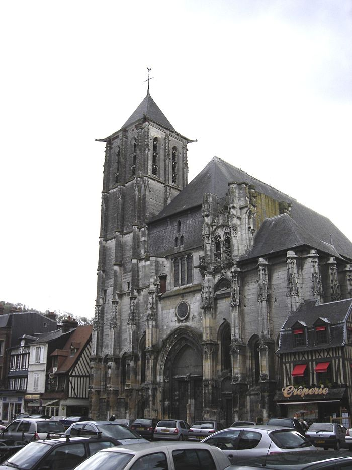 eglise saint ouen monument historique pont audemer myopenweek. Black Bedroom Furniture Sets. Home Design Ideas