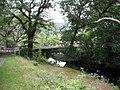 Pont Felinrhyd-fawr bridge from the forest path - geograph.org.uk - 509501.jpg