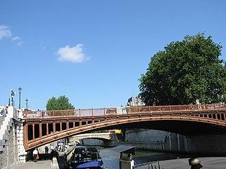 Pont au Double - A photograph of the Pont au Double.