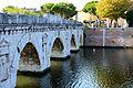 Ponte di Tiberio, southern end.JPG