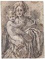 Pontormo - Compsitional Study for a Madonna and Child - Uffizi.jpg