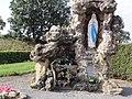 Pontru (Aisne) grotte de Lourdes.JPG