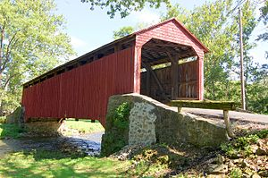 Pool Forge Covered Bridge Wikipedia