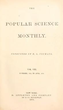Popular Science Monthly Volume 8.djvu