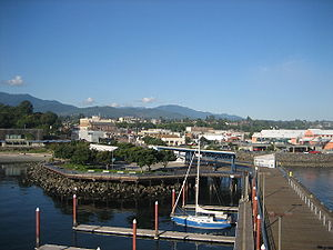 Port Angeles, Washington - Image: Port Angeles August 2007