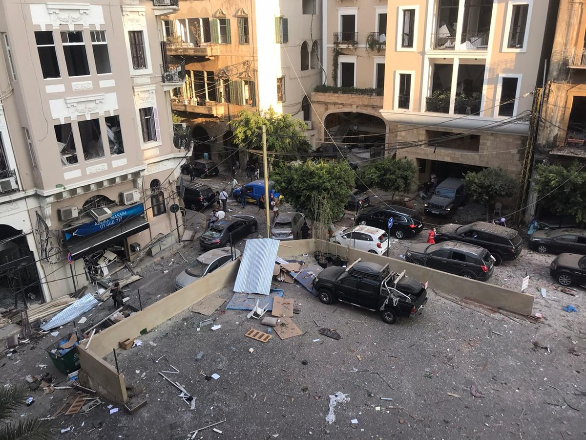 Finnish embassy reportedly destroyed in Beirut explosion