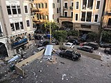 Damage from the Port of Beirut explosions