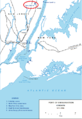 Port of Embarkation Hoboken (1917-1918) with Camp Merritt marked.png