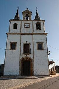 Portada de la ilesia de Santa Marina, en Veiga (Navia).JPG