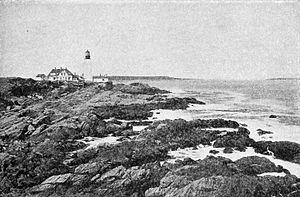 Portland Head Light - Image: Portland Head Lighthouse (1917)