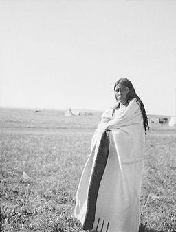 Portrait of Blue Wings - Kainai - Alberta 1909