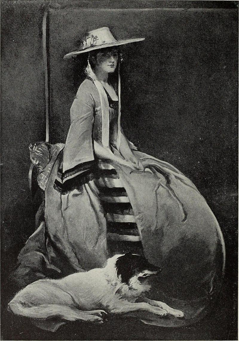 Портрет мисс Би, Джон Уайт Alexander.jpg