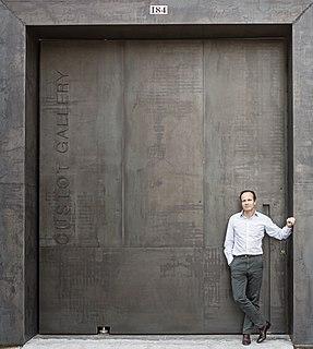 Stephane Custot French gallerist and art dealer