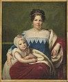 Portret Luizy z Hohenzollernów Radziwiłłowej z córeczką Wandą.jpg