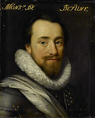 Portrait of Syrius de Bethune (?-1649), Lord of Cogni, Mareuil, le Beysel, Toulon, Conegory and Chastillon